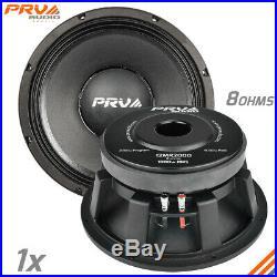 PRV Audio 12MR2000 Mid Range Car Stereo 12 Speaker 8 ohm 12MR PRO 2000 Watts