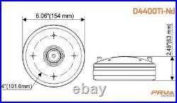 PRV Audio D4400Ti-Nd Titanium Neodymium Compression Driver 2 400 Watts NEO