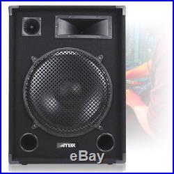 Pair Max 15 Dj Pa Disco Party Band Mega Loud Bass 2000w