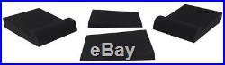 Pair Rockville APM5W 5.25 2-Way 250W Powered USB Studio Monitors+Stands+Pads