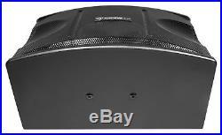 Pair Rockville KPS12 12 3-Way 1600 Watt Karaoke Speakers+Wall Brackets / MDF
