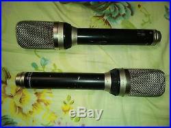 Pair of Neumann Gefell UM70 RFT mv692 mic with cardioid omni fig8 caps