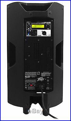 Peavey DM 112 12 1000W Painted Wood Active Powered PA Speaker+Digital DSP DM112
