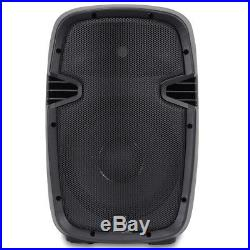 Portable PA DJ Disco Party Active Speaker 10 Woofer Small High Power 400W