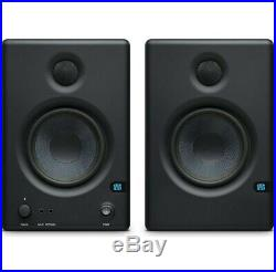 Presonus Eris E4.5 Studio-Aktivmonitor Boxen + 2x KEEPDRUM GC08 Klinkenkabel