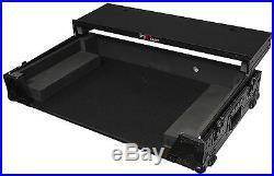 ProX XS-DDJSZWLTBL Black Pioneer DDJ-SZ Hard Case WithGliding Laptop Shelf+Wheels
