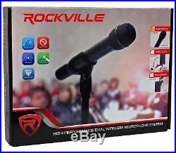 Rockville 12 Portable YouTube Karaoke Machine/System with 4 Mics See Description