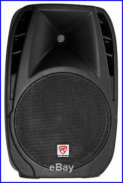 Rockville 15 Church Speakers+Mixer+Stands+Mics+Bluetooth 4 Church Sound Systems
