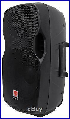 Rockville BPA15 15 Professional Powered Active 800w DJ PA Speaker w Bluetooth
