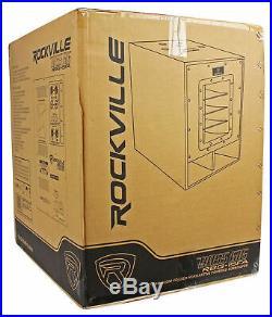 Rockville RBG15FA 15 2400w Active Powered Pro Subwoofer Folded Horn PA/DJ Sub