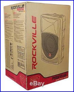 Rockville RPG15 15 Professional Powered Active 1,000 Watt 2-Way DJ PA Speaker