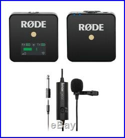 Rode Microphones Wireless Go Compact Transmitter/Receiver with Knox Microphone
