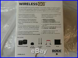 Rode Wireless Go Compact Wireless Microphone System Brand New, Sealed