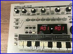 Roland MC-303 Groove Box Synthesizer Drum Machine Sequencer Digital