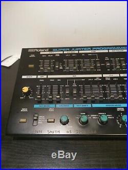 Roland Super Jupiter MKS-80 Analog Synthesizer + MPG-80 Programmer Used REV4