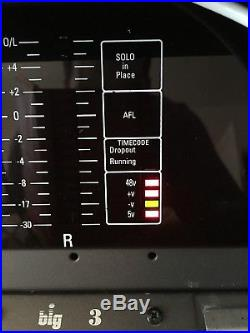 Rupert Neve Designed Amek BIG Mixing Desk/Console Ex Grammy Award BBC Radio ONE