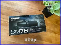 Shure SM7B Dynamic Vocal / Broadcast Microphone (+ free arm extender)