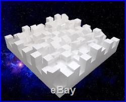 Sonitus BigFuser I Skyline Diffuser Raum Akustik 3 Stück Weiß White Dämmung