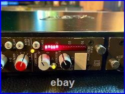 Stereo Calrec stereo bus Custom two channel compressor and serious LIMITER