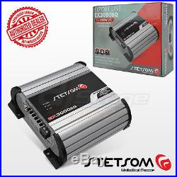 Stetsom Amplifier EX3000 EQ 3600 Watts RMS 1 ohm Digital Amp Built-In EQ 3K