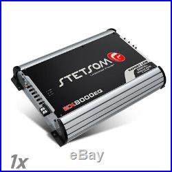 Stetsom Amplifier EX8000 EQ 8950 Watts RMS 2 ohms Digital Amp Built-In EQ 8K