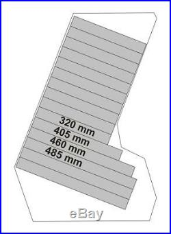 Studio 19 floor rack 22 degree angle wooden rack for audio units size 15U