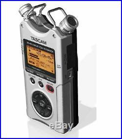 TASCAM DR-40 4-Track Portable Digital Recorder-SILVER