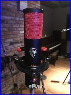 TUBE CONDENSER MICROPHONE U67, U47 Blue, Telefunken quality LITTLE RED MONSTER