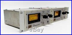 Urei LA-4 Compressor Limiter Stereo Racked Pair #7010A & #7005A Vintage