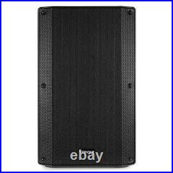 VSA12 Pair Active PA Speakers Bi-Amp 12 1600w 2-Way DJ Sound System with Stands