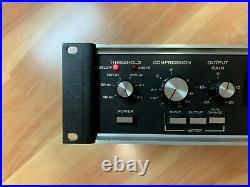 Vintage DBX 161 Pair Compressor Limiter (Unbalanced DBX 160)