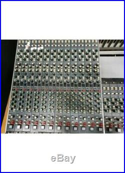 Vintage NEVE 5114 Series 24 Channel Console With Patchbay