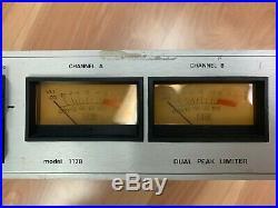 Vintage Urei 1178 Dual Peak Limiter RARE (Stereo/Dual 1176)