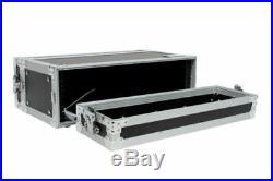 XSPRO XS3U-10 3 Space 3 U ATA Effects Rack Flight Case 19 Wide